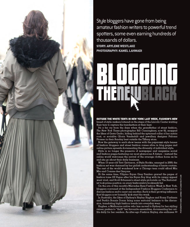 Blogging: The New Black