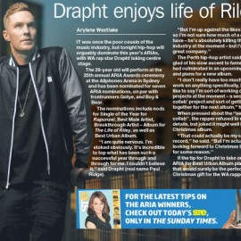 Drapht Enjoys Life of Riley
