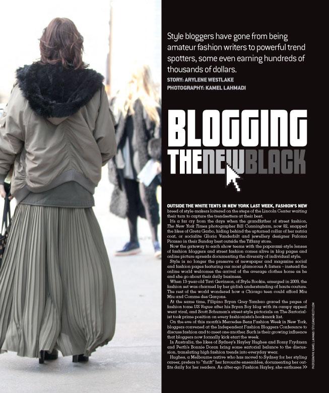 Blogging: The New Black